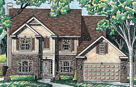 Bungalow Country House Plan 99481 Elevation