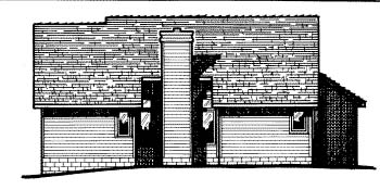 Country House Plan 99490 Rear Elevation