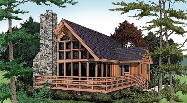 coastal contemporary house plan 99645 elevation