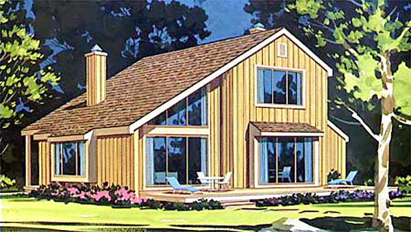 Reverse saltbox house plans House design plans
