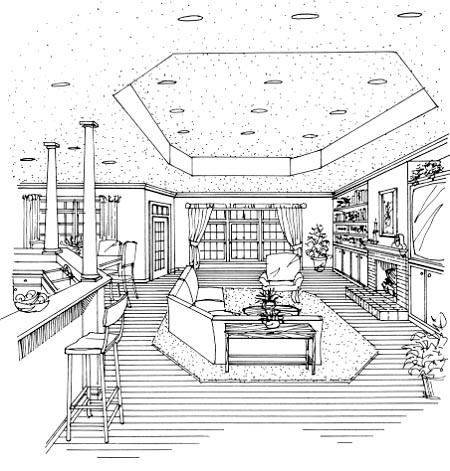 Cape Cod, European House Plan 99678 with 3 Beds, 3 Baths, 2 Car Garage Picture 12