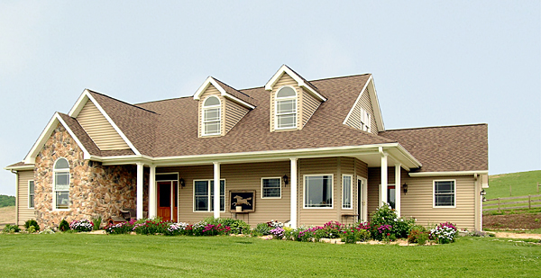 Cape Cod, Country House Plan 99680 with 3 Beds, 2 Baths, 2 Car Garage Picture 1