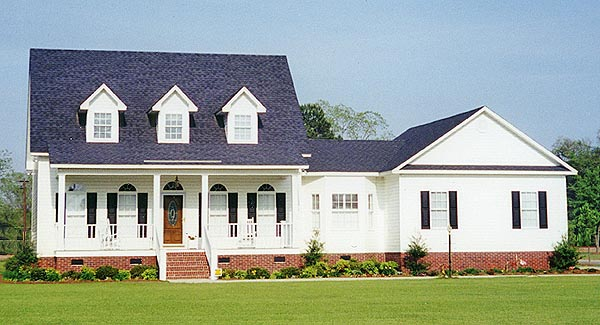 Cape Cod Country Farmhouse Traditional House Plan 99683 Elevation