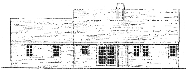 Country Farmhouse Traditional House Plan 99686 Rear Elevation