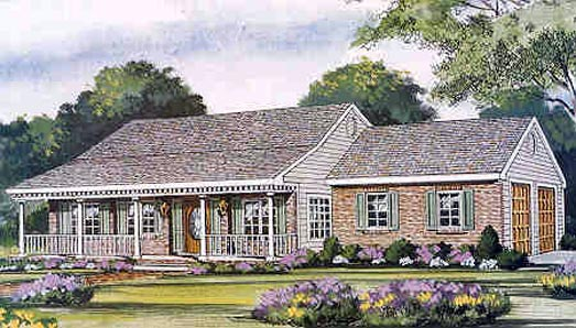 Country House Plan 99690 Elevation