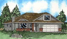 bungalow european house plan 99900 elevation