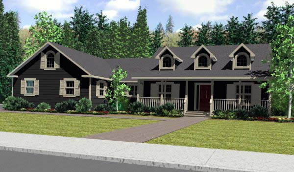 Cape Cod House With Garage : House plan at familyhomeplans