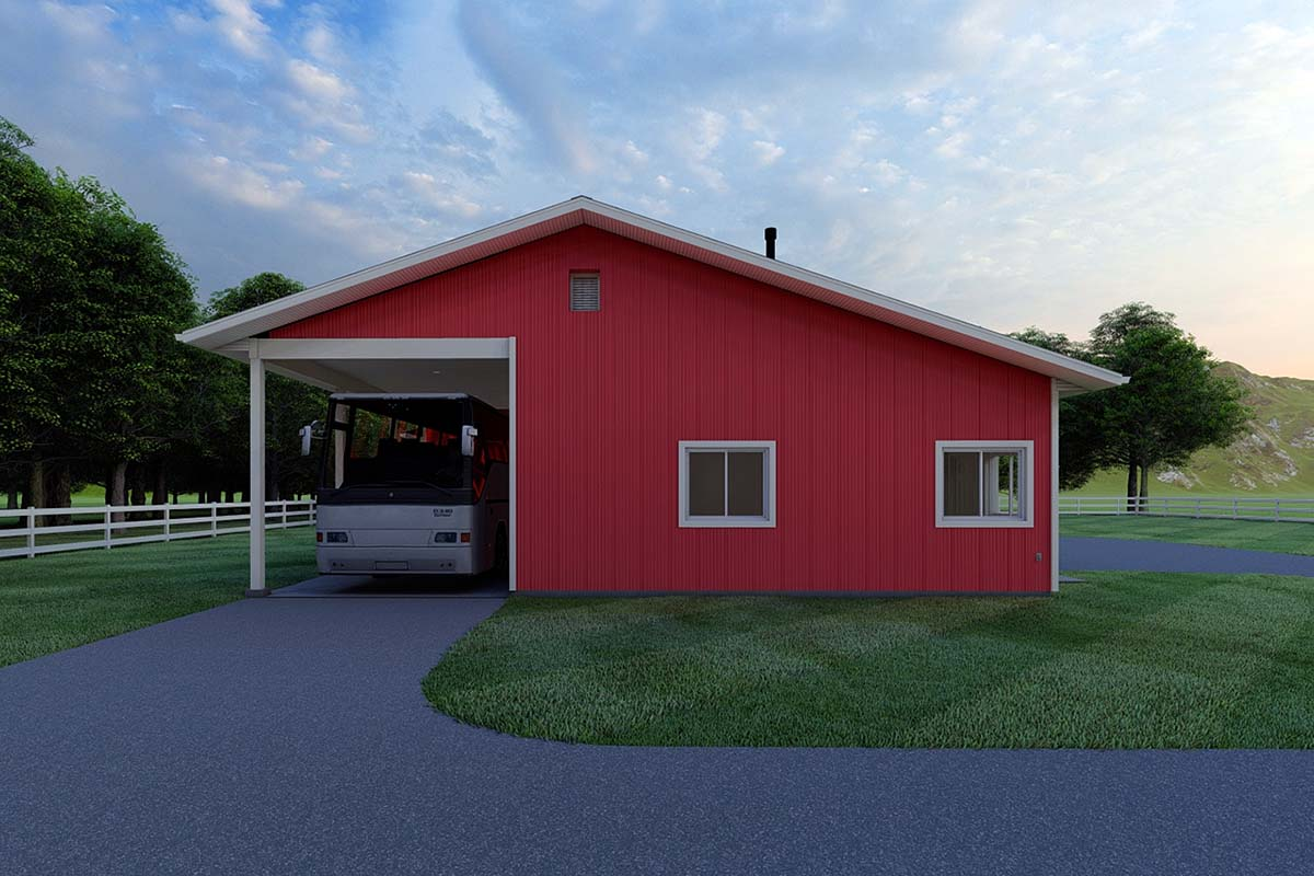 3 Car Garage Plan 99933 Picture 1