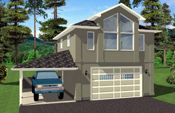 Garage Plan 99942 Elevation