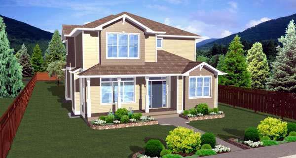 House Plan 99985 Elevation