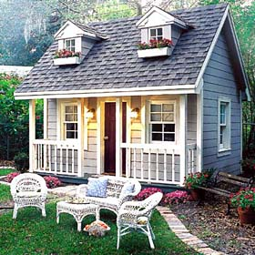 backyard project plans - Family House Plans