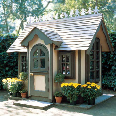 Storybook home plans find house plans for Backyard cottage plans