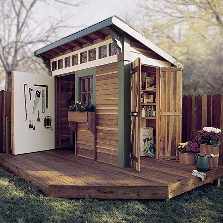Puttering Shed Plan Project 500371
