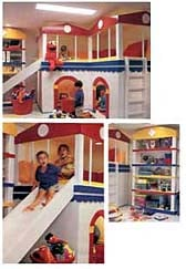 Kids' Basement Playroom