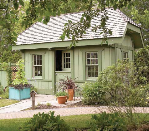 Best Little Garden Shed Plan - Project Plan 500470