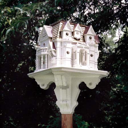 birdhouse mansion plans