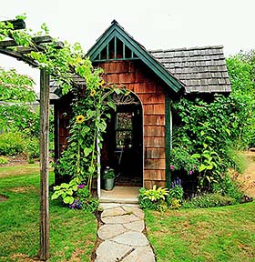 Cedar Shingle Shed - Project Plan 503486