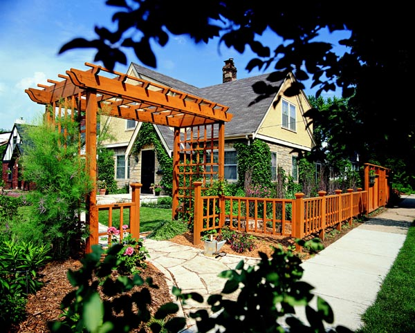Welcoming Arbor and Fence - Project Plan 503495