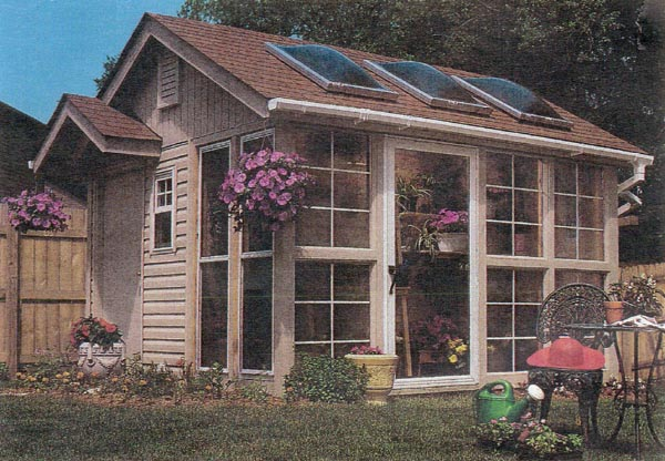 Project plan 503513 homegrown greenhouse for Interesting garden buildings