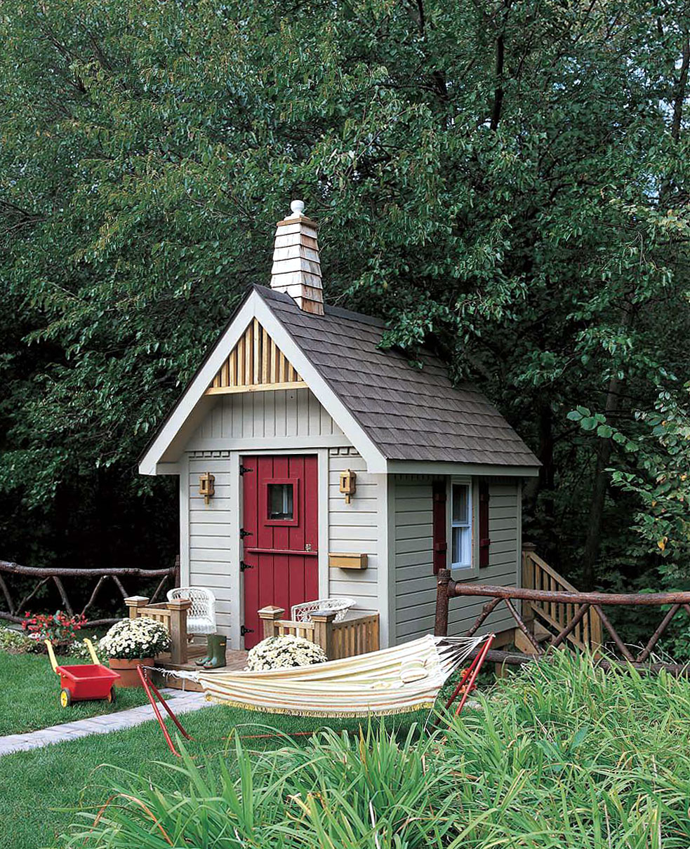 Woodwork outdoor playhouse plans canada pdf plans for Wooden playhouse designs