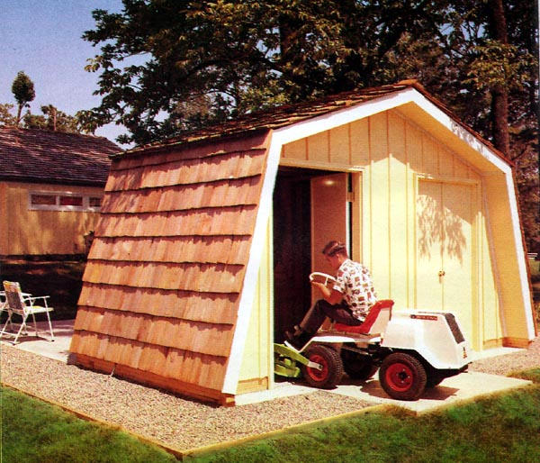 Outdoor Storage Shed - Project Plan 504072