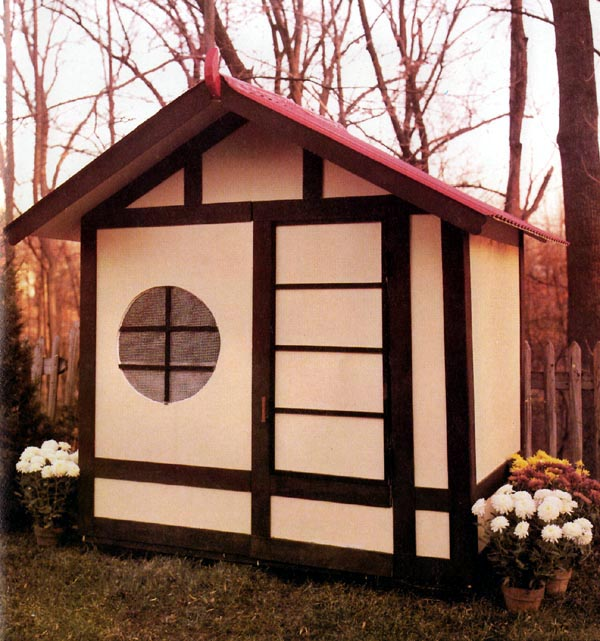 Beautiful Playhouse Storage Shed   Project Plan 504135