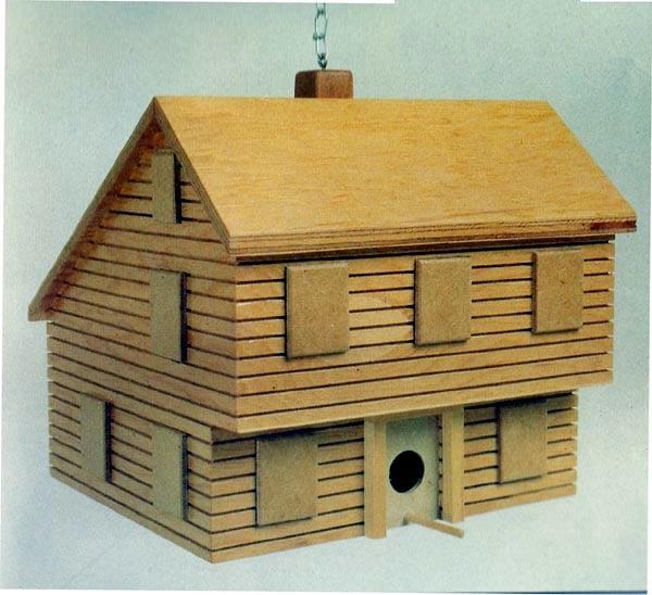 Saltbox Birdhouse - Project Plan 504313