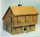 Saltbox Birdhouse