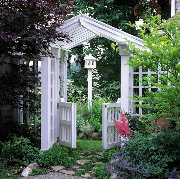 Project plan 504876 gate arbor and trellis for Plans for arbors