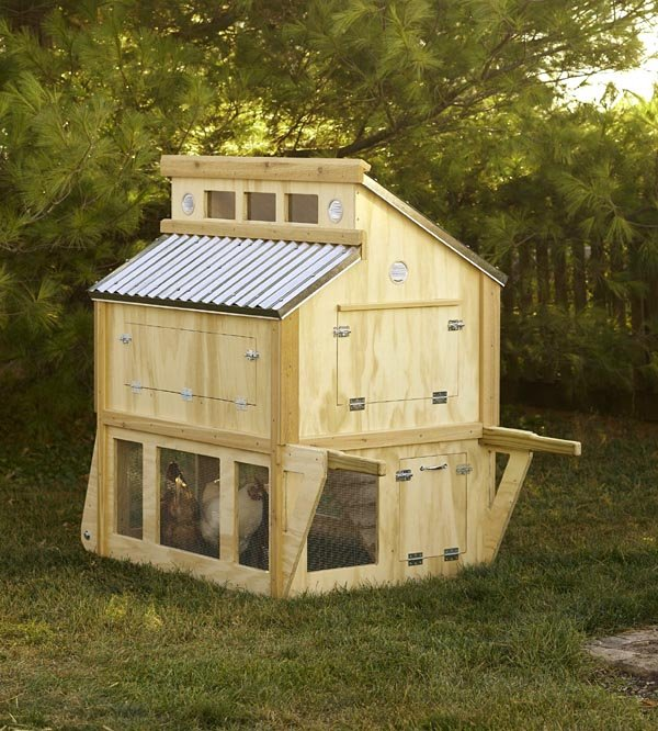 Project plan 504884 portable chicken coop for Mobile chicken coop plans