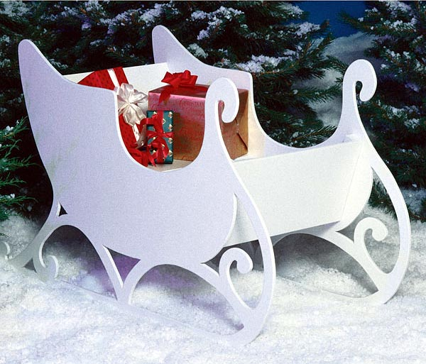 how to build a sleigh