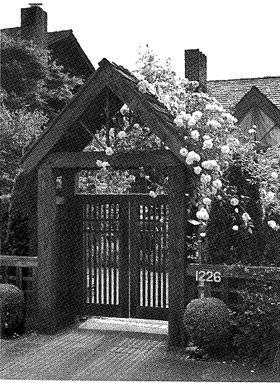 Cedar Entry Gate - Project Plan 504890