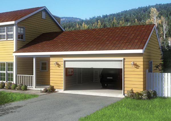 Detached garage with breezeway plans quotes Breezeway house plans