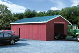 Pole Barns - Project Plan 6019