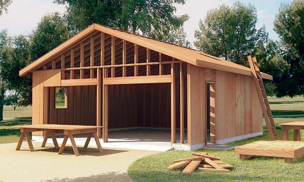 Project plan 6022 the how to build garage plan for Garage plans with carport