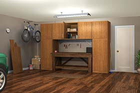 Workbench w/ Cabinets - Project Plan 70001