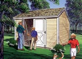 Salt Box Storage Sheds