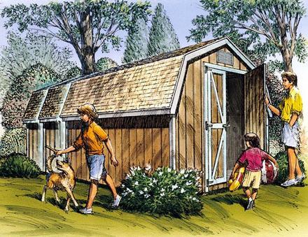 85902 - Yard Barn