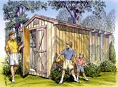 Gable Storage Shed