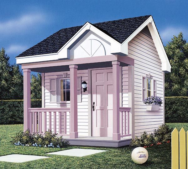 Project plan 85905 children 39 s playhouse for Plans for childrens playhouse