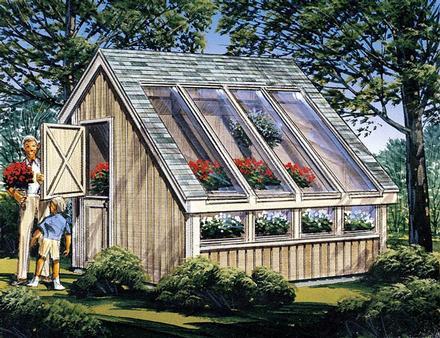 85907 - Garden Shed