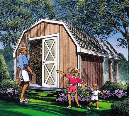 85908 - Barn Storage Shed