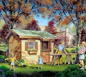 Gable Playhouse