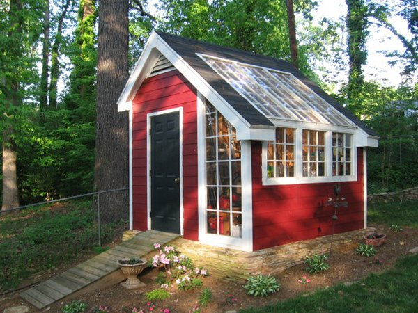 Project plan 85924 garden shed for Greenhouse floor plan