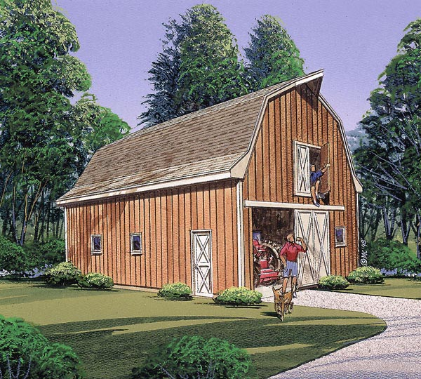 Multi-Purpose Barn