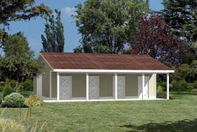 Pole Building - Horse Barn