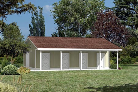 Project Plan 85940 Pole Building Horse Barn