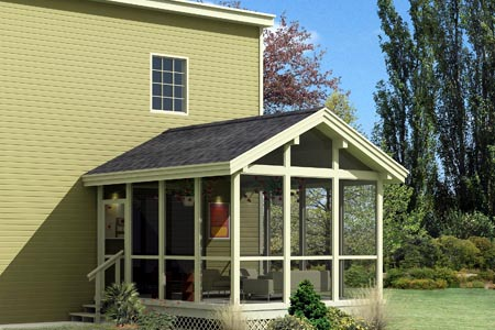 Screened Porch Project Plan 85948