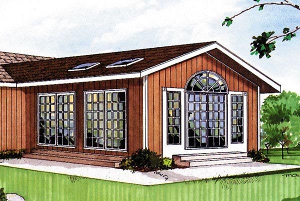 Project plan 85949 sun room addition for Sunroom plans free