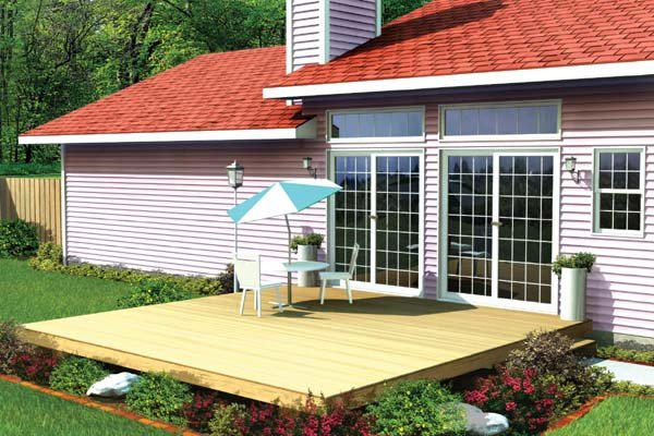 Nice Easy Patio Deck   Project Plan 90001